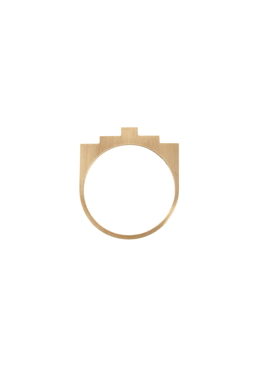 Brass Bangle by AK Studio