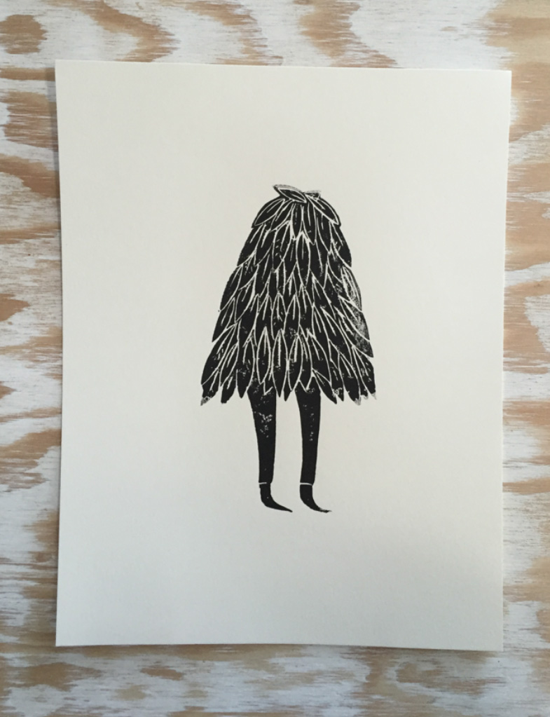 Walking Tree poster by Evan Rossell