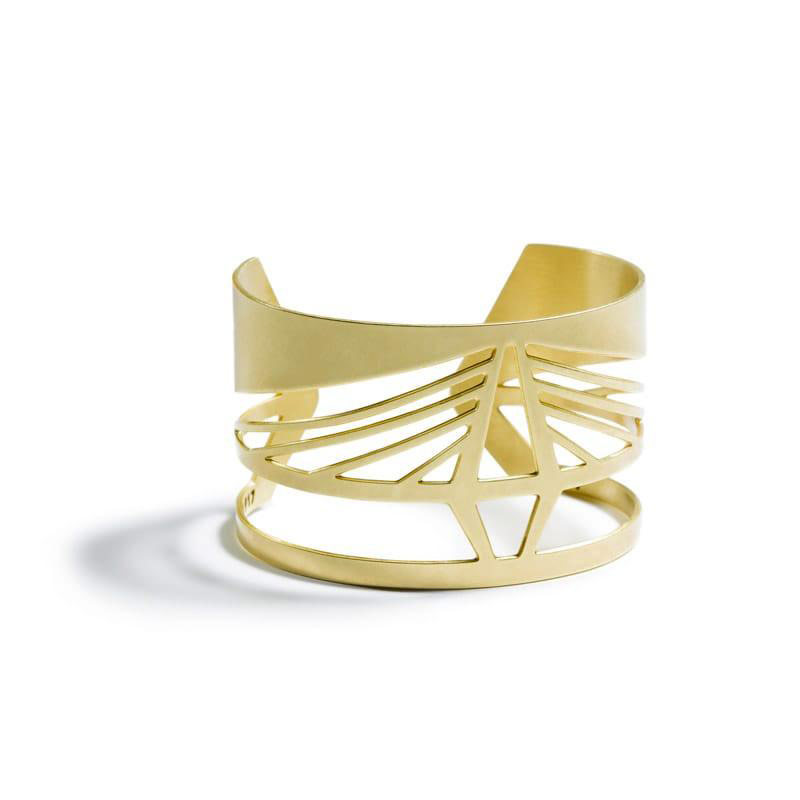 Ravenel Bridge Cuff by Betsy & Iya